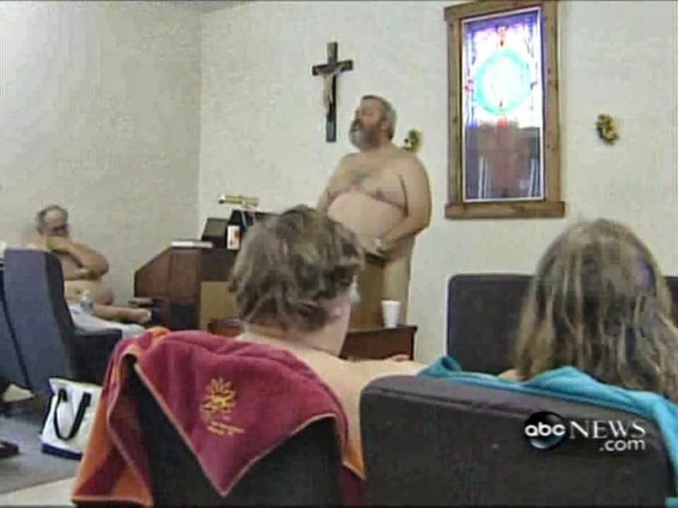 Church where members worship naked