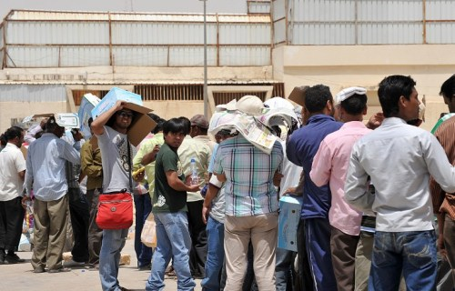 SAUDI-LABOUR-UNEMPLOYMENT-FOREIGN-WORKERS